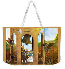 The Liberty Bell Weekender Tote Bag by Reynold Jay