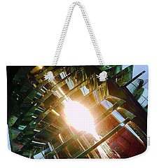The Light Weekender Tote Bag by Daniel Thompson