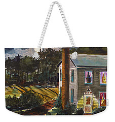 The Light Over The Door Weekender Tote Bag by John Williams