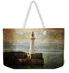 The Lighthouse Weekender Tote Bag by Lucinda Walter