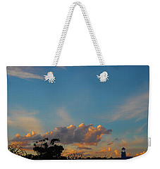 Weekender Tote Bag featuring the photograph The Old Lighthouse by Mark Blauhoefer