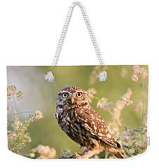 The Little Owl Weekender Tote Bag by Roeselien Raimond