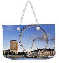 The London Eye Weekender Tote Bag by Rod McLean