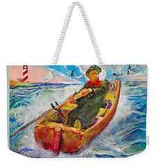 The Lone Boatman Weekender Tote Bag