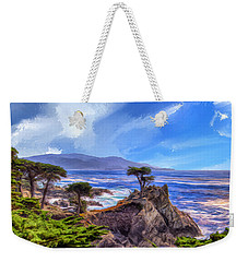 The Lone Cypress Weekender Tote Bag