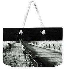 The Lone Photographer Weekender Tote Bag by Douglas Stucky