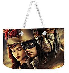 The Lone Ranger Weekender Tote Bag by Movie Poster Prints