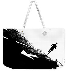 The Long Distance Runner Weekender Tote Bag