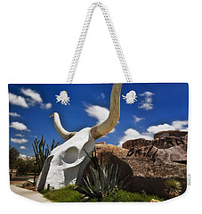 The Long Horn Grill Weekender Tote Bag by Gary Warnimont
