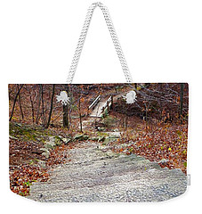 The Long Lonely Trail... Weekender Tote Bag