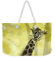 The Long Morning Stretch Weekender Tote Bag