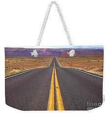 The Long Road Ahead Weekender Tote Bag
