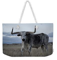 The Longhorn Weekender Tote Bag by Ernie Echols