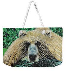 The Look Weekender Tote Bag by Jeanne Fischer