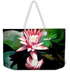 The Lotus Weekender Tote Bag