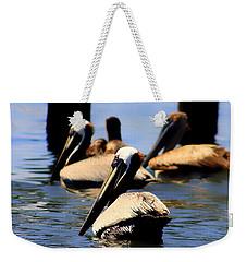 The Lovely Pelican  Weekender Tote Bag