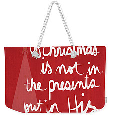 The Magic Of Christmas- Greeting Card Weekender Tote Bag