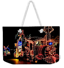 The Main Street Electrical Parade Weekender Tote Bag by Benjamin Yeager