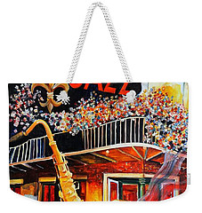 The Maison Bourbon New Orleans Weekender Tote Bag