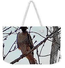 The Majestic Hawk Weekender Tote Bag by Bobbee Rickard