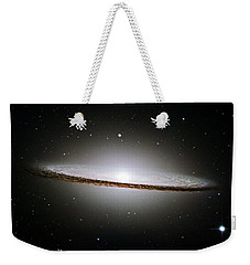 The Majestic Sombrero Galaxy Weekender Tote Bag