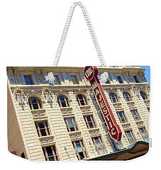 Weekender Tote Bag featuring the photograph The Majestic Theater Dallas #1 by Robert ONeil