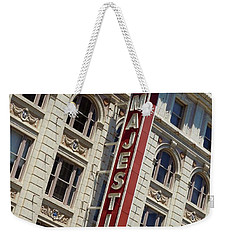 Weekender Tote Bag featuring the photograph The Majestic Theater Dallas #2 by Robert ONeil