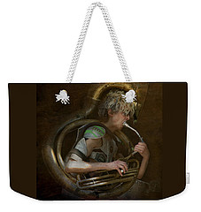 The Man - The Tuba Weekender Tote Bag by Jeff Burgess