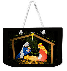 O Holy Night Weekender Tote Bag