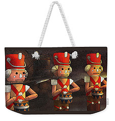 The March Of The Wooden Soldiers Weekender Tote Bag by Reynold Jay