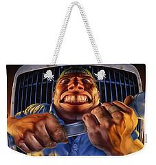 The Mechanic Weekender Tote Bag