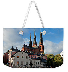The Medieval Uppsala Weekender Tote Bag by Torbjorn Swenelius