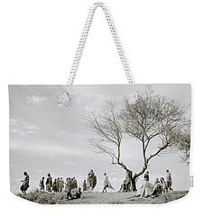 The Meeting Weekender Tote Bag by Shaun Higson
