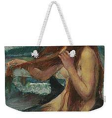 The Mermaid Weekender Tote Bag by John William Waterhouse
