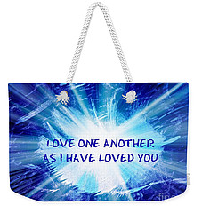 Weekender Tote Bag featuring the photograph The Message by Leanne Seymour