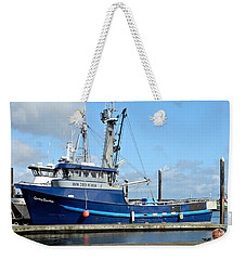 The Mighty Blue Weekender Tote Bag