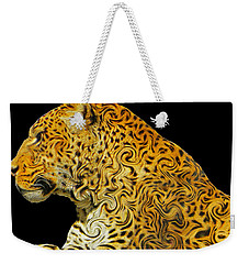 The Mighty Panthera Pardus Weekender Tote Bag