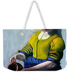 The Milkmaid Weekender Tote Bag