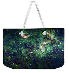 The Milky Way Weekender Tote Bag by Adam Romanowicz