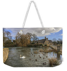 The Millhouse At Fairford Weekender Tote Bag