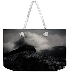 The Mist Weekender Tote Bag by Jessica Shelton