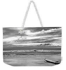 Weekender Tote Bag featuring the photograph The Moment by Steven Santamour