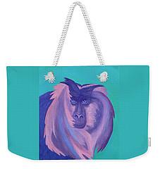 The Monkey's Mane Weekender Tote Bag