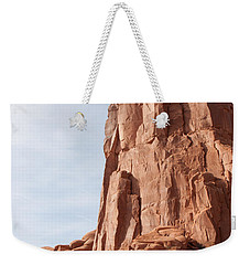 Weekender Tote Bag featuring the photograph The Monolith by John M Bailey