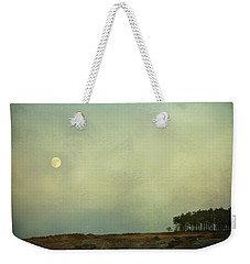 The Moon Above The Trees Weekender Tote Bag
