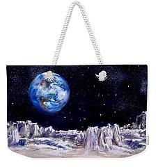 The Moon Rocks Weekender Tote Bag