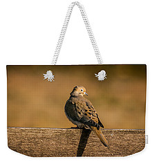 The Morning Dove Weekender Tote Bag