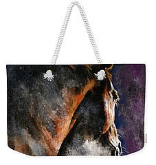 Cold Sunrise Weekender Tote Bag by Laur Iduc