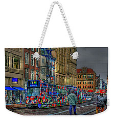 Weekender Tote Bag featuring the photograph The Morning Rhythm by Ron Shoshani