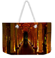 The Most Romantic Place Of Istanbul Weekender Tote Bag by Zafer Gurel